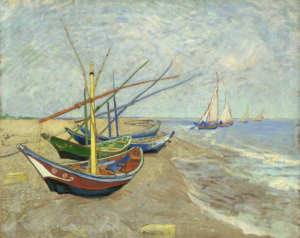Städel Les-XX Vincent van Gogh Ausstellung